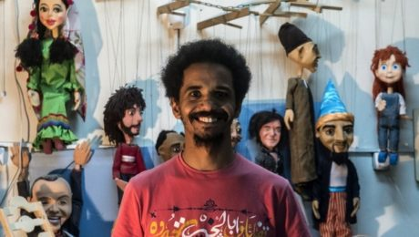 The man behind the curtain: Cairo's puppet master brings his 'children' to life
