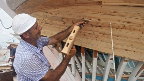 Syria's last wooden-boat builders