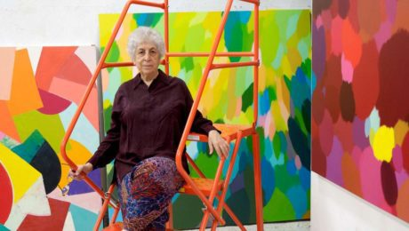 Palestinian artist Samia Halaby opens up about latest solo exhibition in Beirut