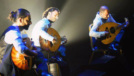 Palestinian oud trio combines poetry with music