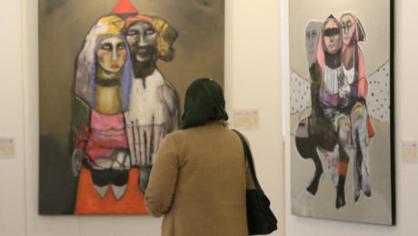 In Mosul exhibition, Iraqi artists process brutal rule of Daesh