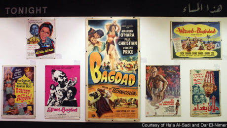 Vintage film posters show the Middle East as imagined by the West