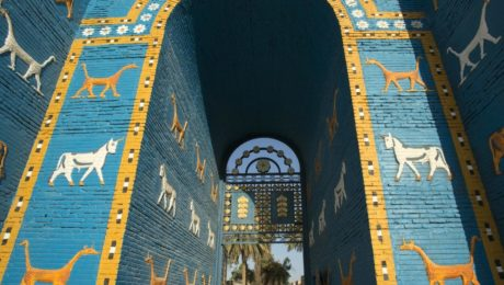 Kissing in Babylon: The ancient site giving young Iraqis their freedom